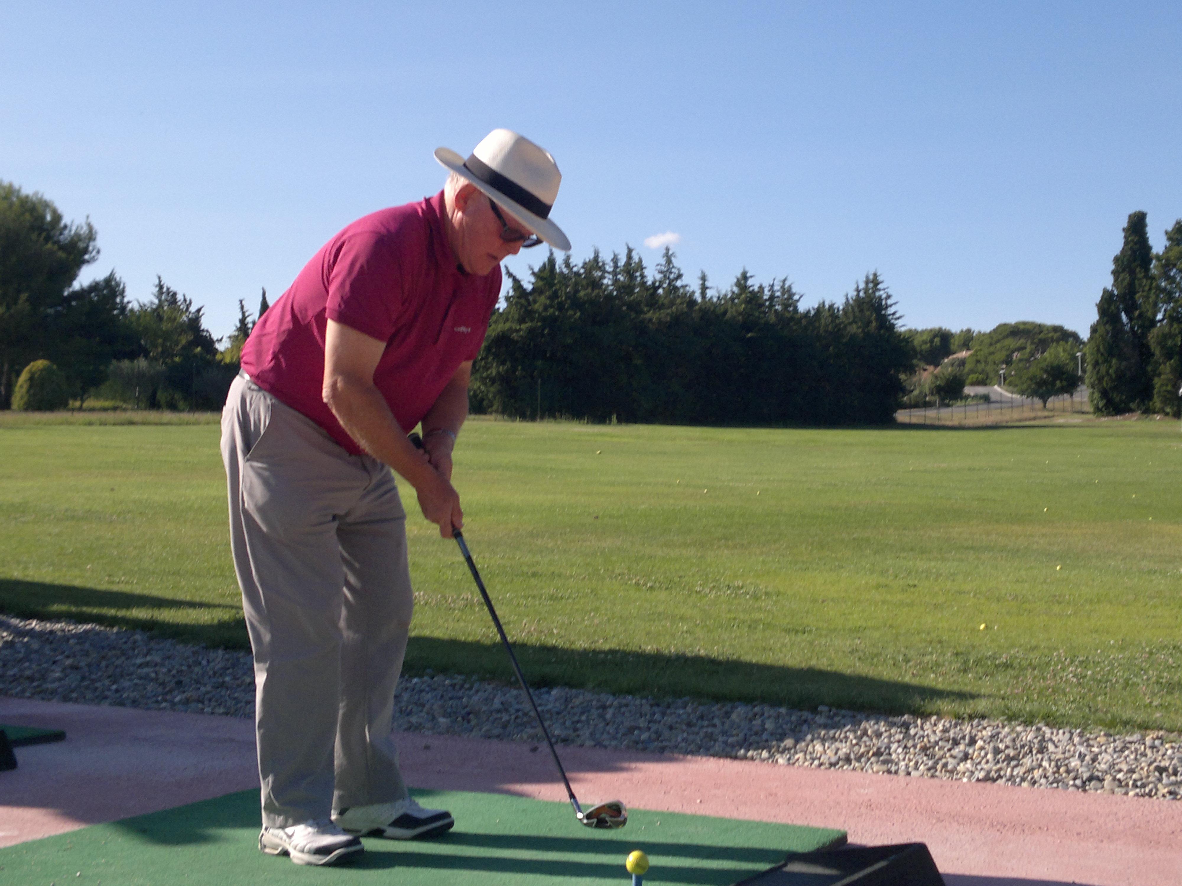 golf alzheimer